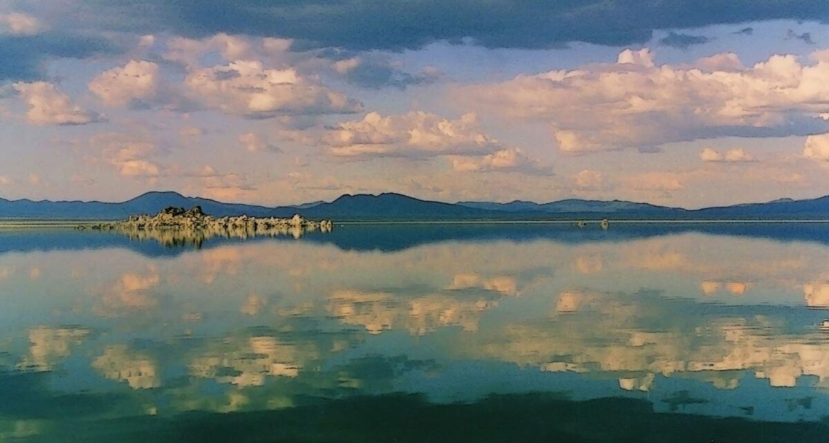 Mono Lake Mirror