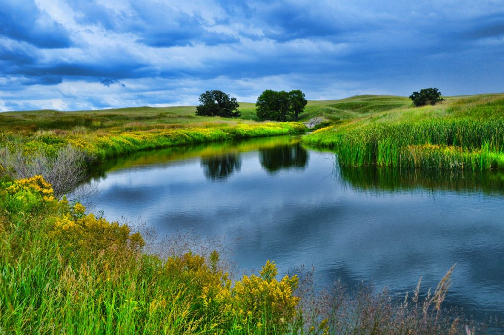 Nebraska Sandhills Pond
