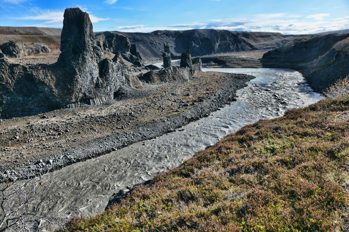 River & Monoliths